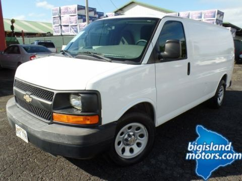 Pre-Owned 2012 Chevrolet Express Cargo Van Express