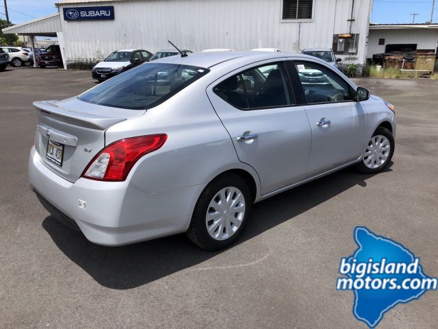 Certified Pre-Owned 2017 Nissan Versa Sedan SV