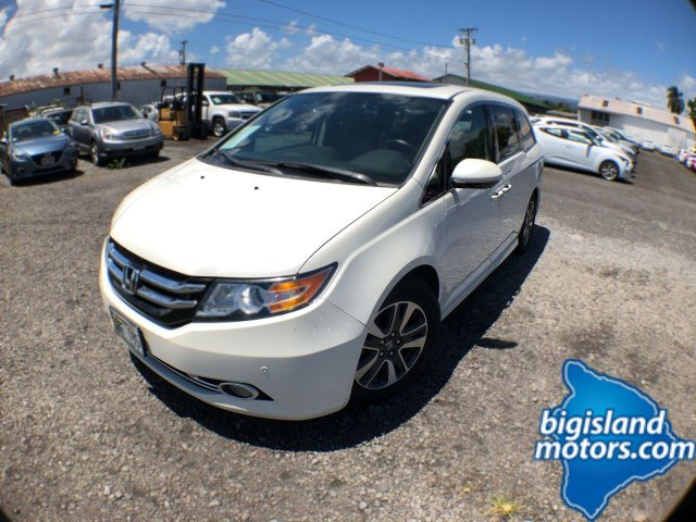 2015 Honda Odyssey Touring Elite With Navigation