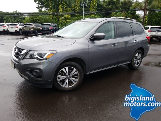 Certified Pre-Owned 2017 Nissan Pathfinder S