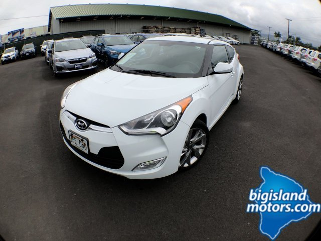 Certified Pre Owned 2017 Hyundai Veloster Value Edition 3dr Car In