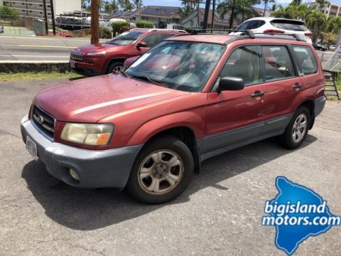 Pre-Owned 2003 Subaru Forester X